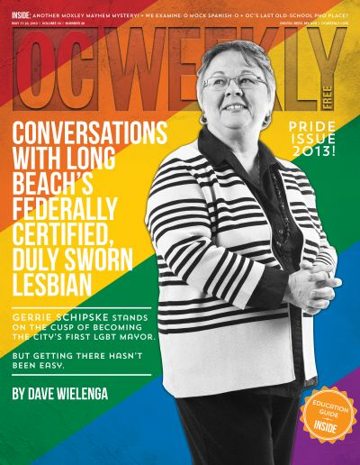 Conversations with Long Beach's federally certified duly sworn lesbian