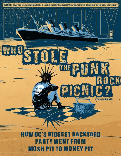 Who stole the punk rock picnic?