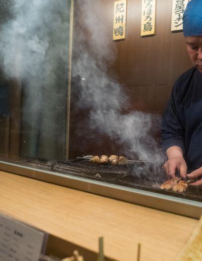 Where yakitori chefs eat yakitori